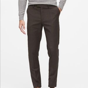 Banana Republic Slim Italian Wool Suit Pant